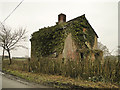 TM3667 : Derelict house at Rotten End, near Peasenhall by Adrian S Pye