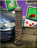 J3272 : Water Boundary post, Belfast by Rossographer