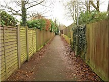 SU6350 : Footpath to Neville Close by Derek Harper