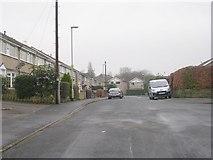SE2333 : Looking back along Hillside View - Hough Side Road by Betty Longbottom