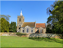 TF6415 : North Runcton All Saints' church by Adrian S Pye