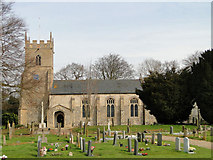 TF9123 : Whissonsett St Mary's church by Adrian S Pye