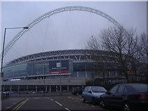 TQ1985 : Wembley Stadium by David Howard
