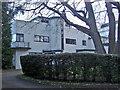 TQ1364 : Art deco house, Esher Close by David Howard