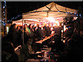 TQ2375 : Beer festival at the Bricklayers Arms by Stephen Craven