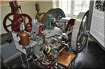 SK3536 : Crossley Gas Engine by Ashley Dace