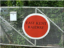 TR2548 : East Kent Railway - Shepherdswell Gate by Helmut Zozmann