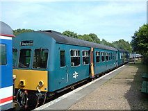 TR2548 : East Kent Railway - Shepherdswell Platform by Helmut Zozmann