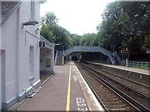 TR2548 : Shepherdswell Railway Station - Platform by Raimund Zozmann