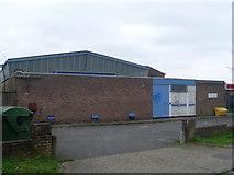 SP8003 : Princes Risborough Telephone Exchange by David Hillas