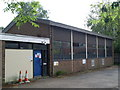 TQ0747 : Shere Telephone Exchange, Surrey by David Hillas