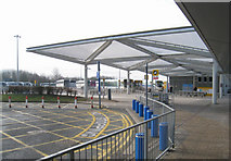 TL5523 : Bus station - Stansted Airport by Sandy B
