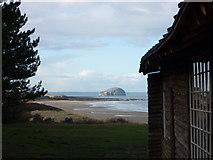 NT6281 : Coastal East Lothian : Ravensheugh Sands Seen From The Ravensheugh Log Cabin by Richard West