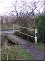 TM3865 : Footpath toTiggins Lane by Adrian Cable