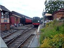 TQ8833 : K&ESR Tenterden Town Station by Helmut Zozmann