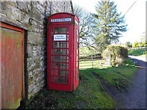 H5956 : Telephone box, Cleanally by Kenneth  Allen