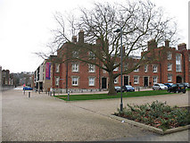 TQ4277 : Royal Military Academy: converted buildings  by Stephen Craven