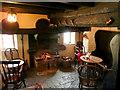 SP0943 : Snug bar at The Fleece Inn by Jonathan Billinger