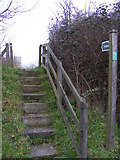 TM3763 : Footpath to Seaman Avenue by Adrian Cable