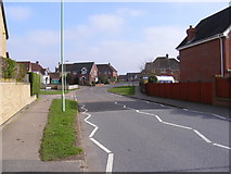 TM3863 : Brook Farm Road, Saxmundham by Geographer