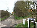 TA3524 : Mill Lane, Hollym, East Yorkshire by Ian S