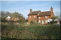 SP1470 : Rose Cottage and neighbours, Kemps Green by Robin Stott