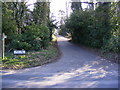 TM2750 : Footpath to Turnpike Lane  on Leeks Hill by Geographer