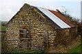 NZ2423 : Barn, Mill Lane by Mark Anderson