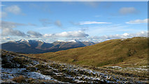 NN2323 : Slope rising to summit of Meall nan Gabhar by Trevor Littlewood