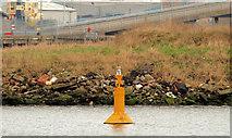 J3475 : Navigation light, Belfast by Albert Bridge