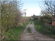 TA0609 : Bridleway on the edge of Barnetby le Wold by Jonathan Thacker