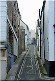 SM9515 : Hill Lane, Haverfordwest by Dylan Moore