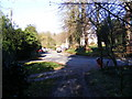 TM3968 : Old High Road, Yoxford by Geographer