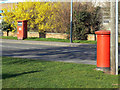 SP1955 : Postboxes on Masons Road by Alan Murray-Rust