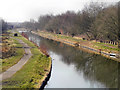 SD7200 : Bridgewater Canal from Booth's Hall Bridge by David Dixon