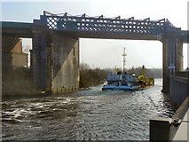 SJ7293 : Manchester Ship Canal by David Dixon