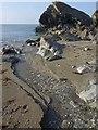 SX1651 : Stream, Lansallos Cove by Derek Harper