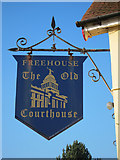 TQ8115 : The Old Courthouse sign by Oast House Archive