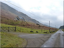 NN2114 : New house in Glen Fyne by Richard Law