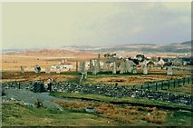 NB2133 : Standing stones at Calanais by Douglas Nelson