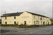 SD7139 : The Three Fishes, Great Mitton by Tom Richardson