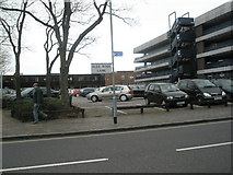SU6400 : Car park in Alec Rose Lane by Basher Eyre