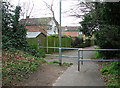 TG2006 : Footpath south of Newmarket Road, Eaton (Norwich) by Evelyn Simak