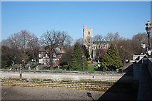 TQ2475 : All Saints, Fulham by John Salmon