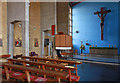 TQ2376 : St Etheldreda, Fulham Palace Road - Interior by John Salmon