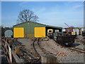 SP9427 : Railway Engine Shed by Mr Biz