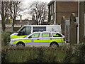 TF0207 : Stamford police station, Police vehicles by Bob Harvey