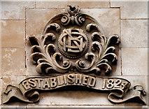 J2664 : Bank initials, Lisburn by Albert Bridge