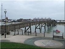 TQ2104 : Footbridge to Shoreham Beach by Malc McDonald