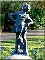 SU1583 : Statue, Town Gardens, Swindon by Brian Robert Marshall
